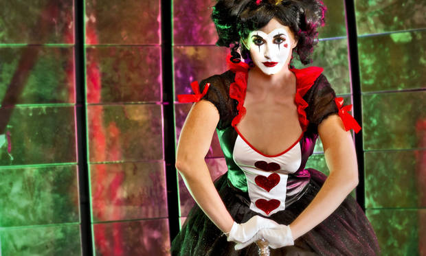 Queen of Hearts costume modeled by Clancey of Anthony David Modeling Agency. Makeup and hair by Sharon Tabb, The Makeup Room Agency. Photo by Chris Landsberger, The Oklahoman. <strong>CHRIS LANDSBERGER</strong>