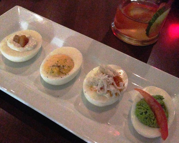 The Deviled Egg flight at Park House.