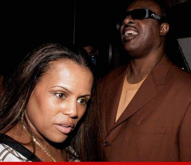 Stevie Wonder has filed for divorce from wife Kai Morris. TMZ photo provided.
