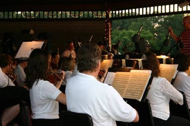 The Oklahoma City Philharmonic annually performs at Yukon Freedom Fest. Photo provided