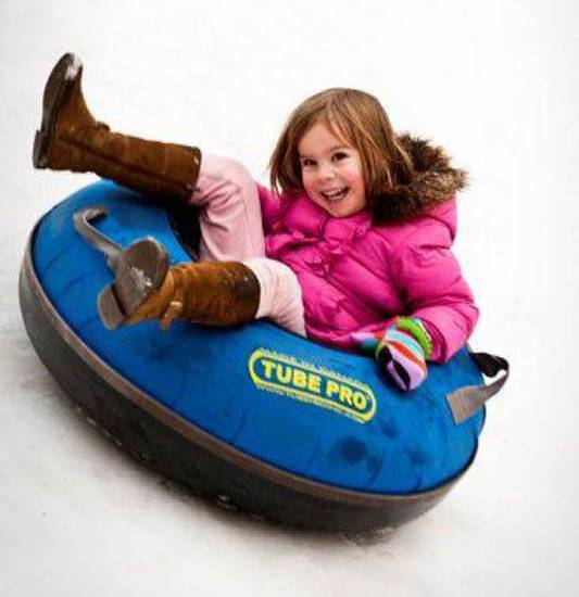 The Chickasaw Bricktown Ballpark again offers snow tubing, sponsored by Chesapeake. PHOTO PROVIDED. <strong></strong>