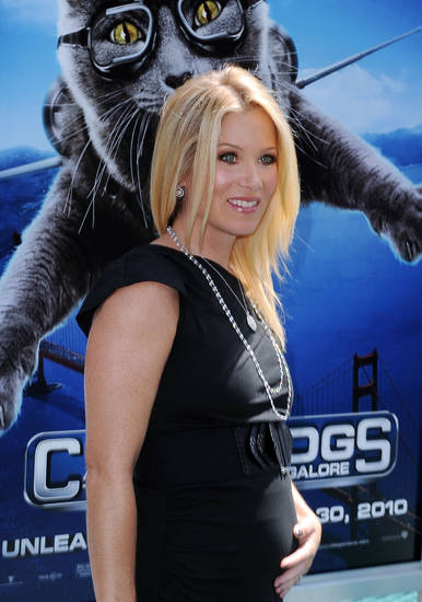 "Christina Applegate arrives at the world premiere of  ""Cats and Dogs: The Revenge of Kitty Galore,"" on Sunday July 25, 2010 at Grauman's Chinese Theatre in Los Angeles.   ORG XMIT: CAKW106"