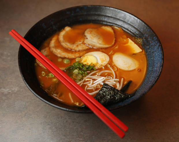 Korean Ramen at Main Street Noodle, 622 S Main St., in Stillwater, <strong>NATE BILLINGS - NATE BILLINGS</strong>