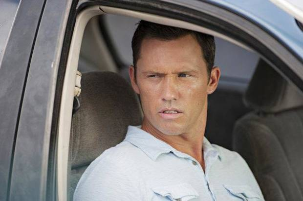 "BURN NOTICE -- ""Reckoning"" Episode 713 --Pictured: Jeffrey Donovan as Michael Westen -- (Photo by Glenn Watson/USA Network)"