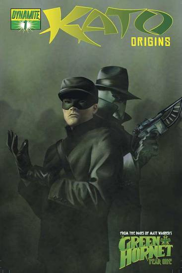 "The first issue of ""Kato: Origins,"" written by Jai Nitz.  Dynamite Entertainment. <strong></strong>"