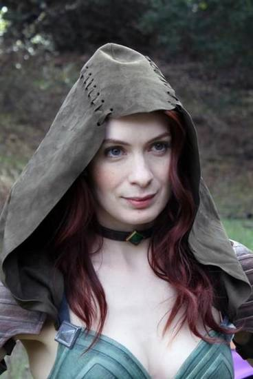 Felicia Day in Dragon Age: Redemption