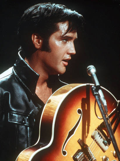 Elvis Presley - AP Photo