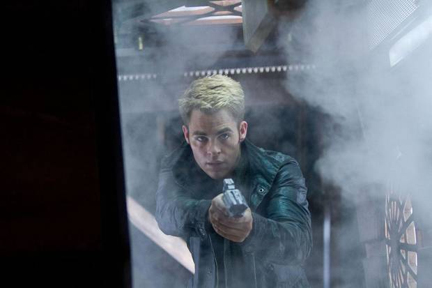 "Chris Pine reprises his role as Capt. James T. Kirk in the sequel ""Star Trek into Darkness."" Paramount Pictures photo <strong></strong>"