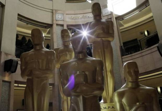 The Oscars are tonight, and I'll be live blogging them! (AP file)