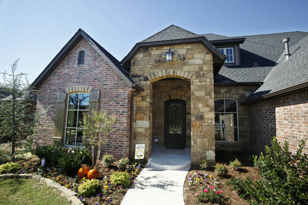 This home by Tom French Construction at 4409 Roundup Road in Edmond was in last year�s Parade of Homes.  Photo by Paul B. Southerland, The Oklahoman