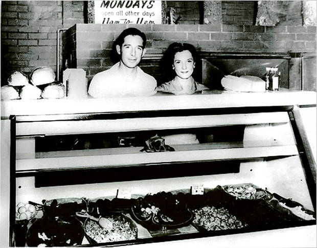 John and Levita Bayless behind the counter at the Hickory House, SW 25 and Western. PHOTO PROVIDED