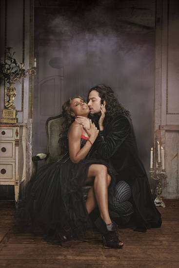 "Constantine Maroulis and Deborah Cox head the cast of ""Jekyll & Hyde.""   Photo provided <strong></strong>"