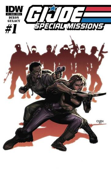 G.I. Joe: Special Missions No. 1. IDW Publishing. <strong></strong>