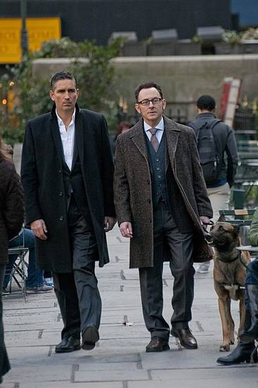 "From left, Jim Caviezel and Michael Emerson star in ""Person of Interest."" - Photo by John P. Filo/CBS ©2013 CBS Broadcasting Inc. All Rights Reserved."