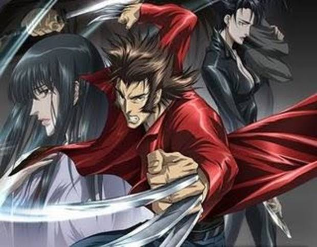 The anime version of Wolverine