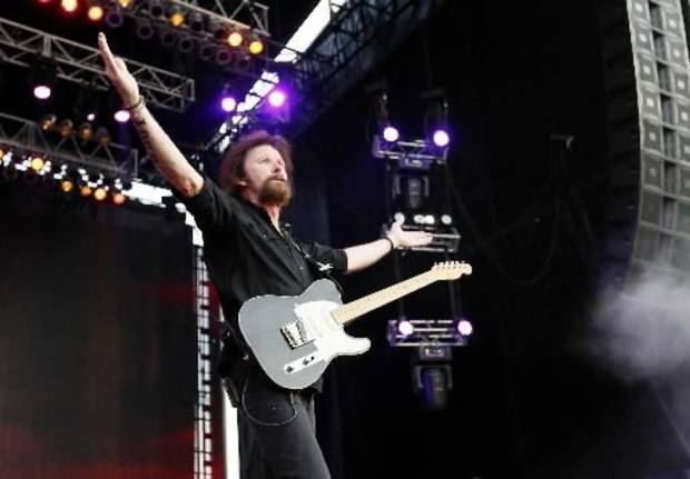 Ronnie Dunn performs during the Oklahoma Twister Relief Concert. The former Tulsan will play at the Choctaw Nation Labor Day Festival in Tuskahoma. Photo by Nate Billings, The Oklahoman Archives