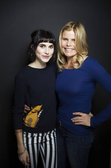 "Artist Langley Fox Hemingway, left, and actress Mariel Hemingway from the film ""Running From Crazy"" pose for a portrait during the 2013 Sundance Film Festival on Sunday, Jan. 20, 2013 in Park City, Utah. (Photo by Victoria Will/Invision/AP Images)"
