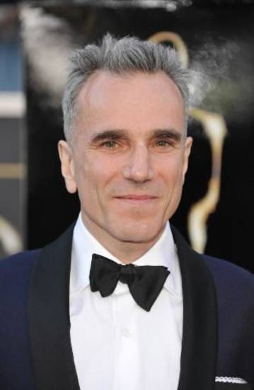 Daniel Day-Lewis arrives. (AP)