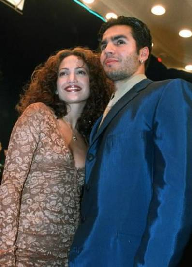 Jennifer Lopez and Ojani Noa attented an event in Los Angeles together in 1997 (AP Photo/Rene Macura)