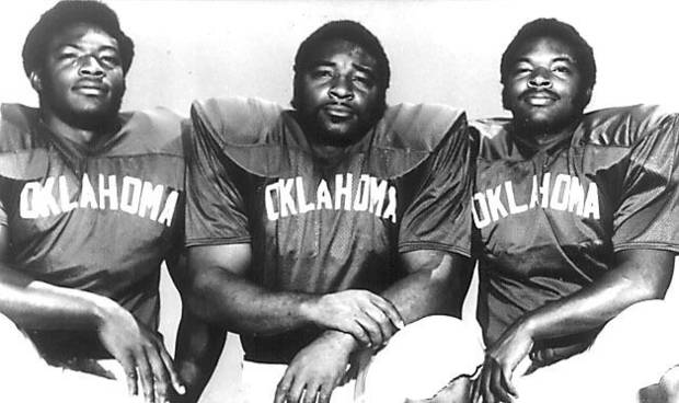 Lee Roy, Lucious and Dewey Selmon, former OU football players