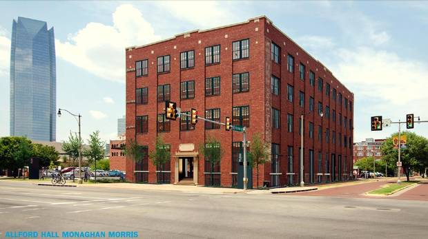 The long vacant, boarded up Rock Island Plow building at Reno and Oklahoma is set to be renovated into offices next year.