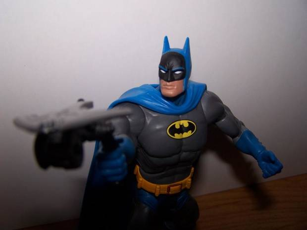 The No. 1 toy for 2007, Batman from DC Classics Wave 1 (Picture by Chris Price)