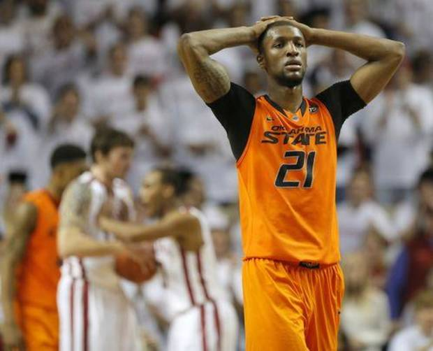 Kamari Murphy is OSU's lone big man.