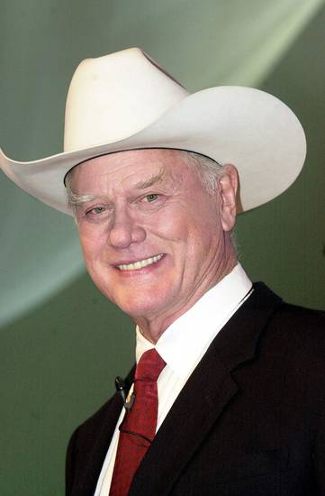 Television actor Larry Hagman  AP PHOTO <strong>HERMANN J. KNIPPERTZ</strong>