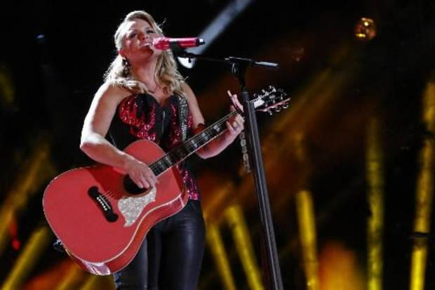 Miranda Lambert tied Tim McGraw with a leading seven nominations for this year's ACM Awards. (AP file)
