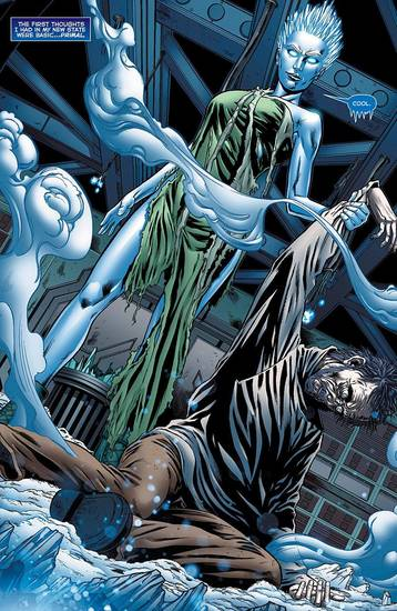 "A page from ""Justice League of America 7.2: Killer Frost."""