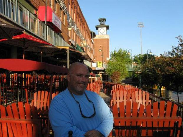 Norm Bekoff, recently opened up Captain Norm's Dockside Bar along the Bricktown Canal. <strong>Steve Lackmeyer</strong>