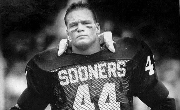 Brian  Bosworth, OU football player (Original photo dated 12/11/85)