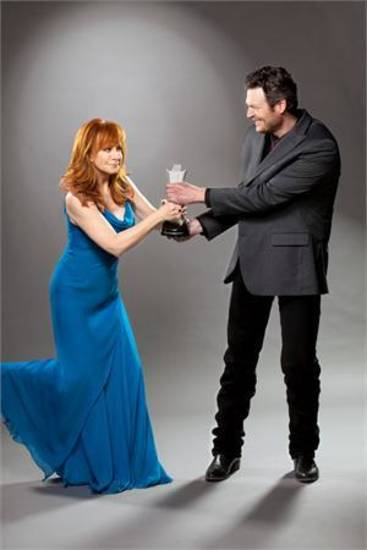 For the second straight year, Oklahoma natives Reba McEntire and Blake Shelton are co-hosting the Academy of Country Music Awards, airing live from Las Vegas Sunday night on CBS.