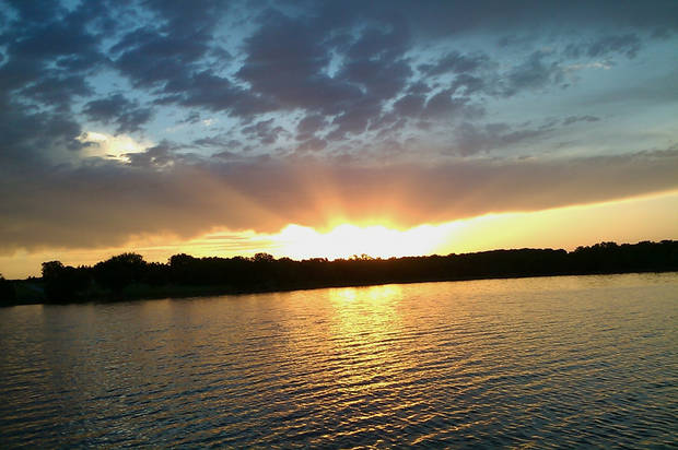 FW: Sunrise at Lake McMurtry