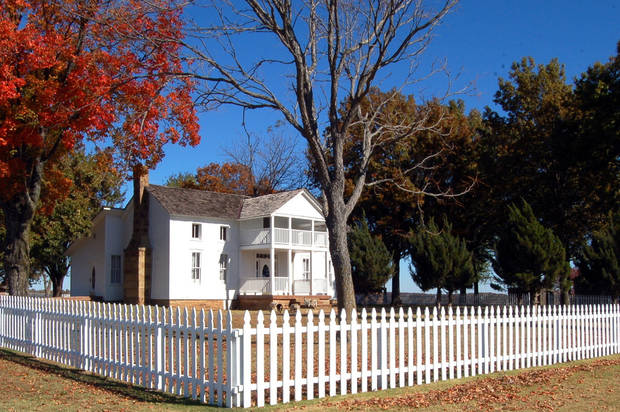 Will Rogers    Dog Iron Ranch &    Birthplace Home  near Oologah, Okla.<br/><b>Community Photo By:</b> Eldon Harris<br/><b>Submitted By:</b> Eldon, Bethany