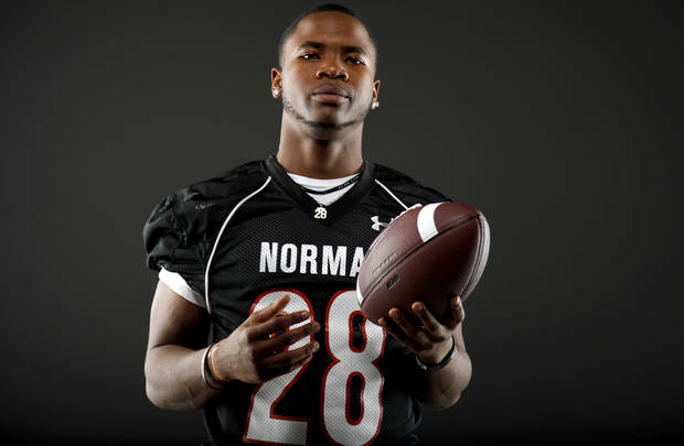 All-State football player Donovan Roberts, of Norman, poses for a photo in Oklahoma CIty, Wednesday, Dec. 14, 2011. Photo by Bryan Terry, The Oklahoman