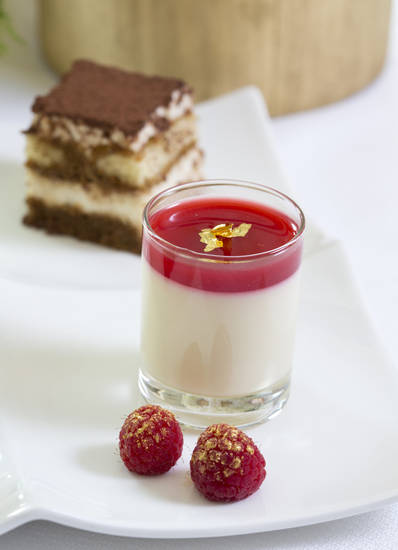 For holiday entertaining try a Nutcracker theme serving a dessert duo of panna cotta with sugar plum sauce and �Arabian� chocolate tiramisu. (Ross Hailey/Fort Worth Star-Telegram/MCT)