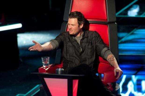THE VOICE -- Episode 102 -- Pictured: Blake Shelton -- Photo by: Lewis Jacobs/NBC