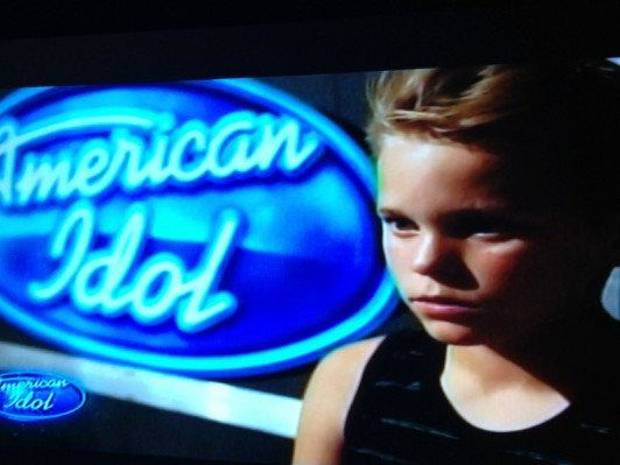 "Kayden Stephenson, 16, of Tulsa auditions for ""American Idol."" He made it through to Hollywood Week. <strong></strong>"