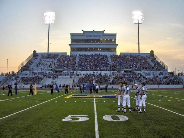 Stillwater's Pioneer Field. PHOTO COURTESY OF STILLWATERFOOTBALL.COM