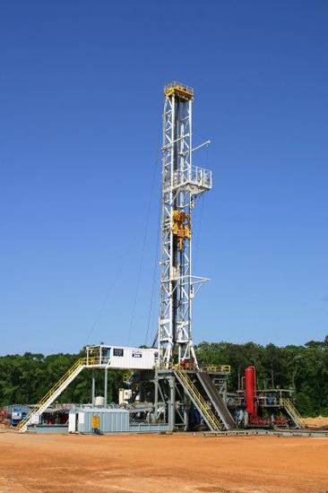 A Helmerich & Payne Inc. FlexRig works in the Marcellus Shale in Pennsylvania in 2010. <strong> - provided</strong>