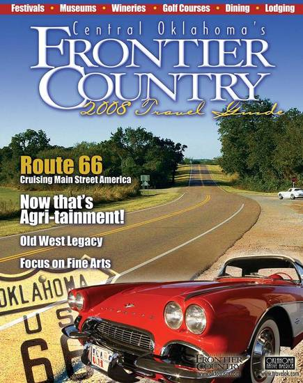 The 2008 Frontier Country Travel Guide covers tourist attractions in central Oklahoma, including El Reno, Norman, Shawnee, Stillwater and Oklahoma City.<br/><b>Community Photo By:</b> Emily Reagan<br/><b>Submitted By:</b> em, norman