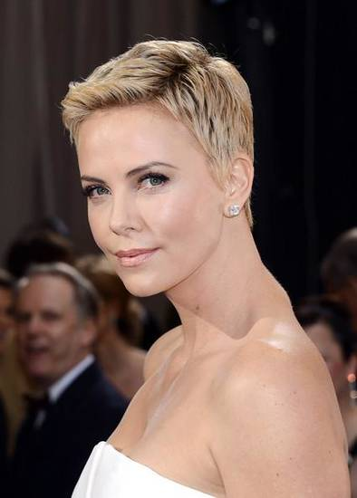 Charlize Theron at the Academy Awards in February 2013.