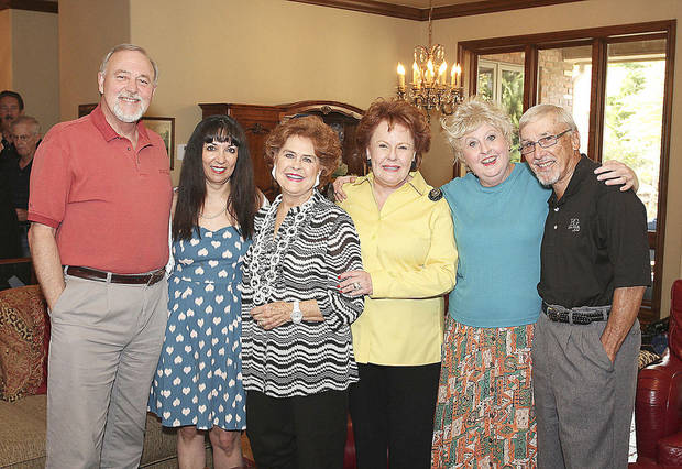Terry Runnels, Jackie Short, Charlotte Franklin, Bobbie Burbridge Lane, Christina Rapp, John Ferguson.