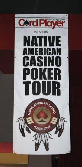 The Choctaw Casino hosted the new Native American Casino Poker Tour on Dec. 10-11. Photo by Sean Chaffin. <strong></strong>