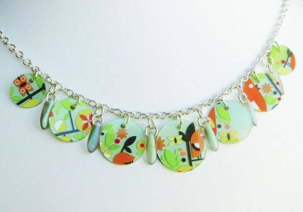Necklace by artist Andrea Kissinger. Photo provided