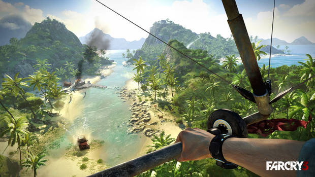 "This video game image released by Ubisoft shows a scene from ""Far Cry 3."" (AP Photo/Ubisoft)"