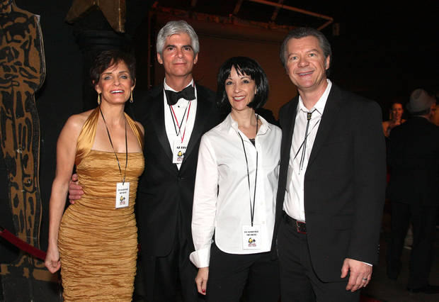 Vicki VanStavern, Don Narcomey, Lea and Michael Morgan. Photo by David Faytinger for The Oklahoman  <strong></strong>