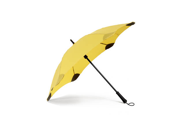 April showers don't often end in April. Here is a stylish, colorful and sturdy umbrella to keep you dry this spring. Shown here: BLUNT RTS Lite sold at: www.bluntusa.com.