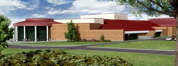 This artist rendering shows the planned performing arts theater at Oklahoma City Community College. PHOTO PROVIDED BY OKLAHOMA CITY COMMUNITY COLLEGE <strong>Provided</strong>